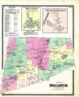 Decatur, South New Berlin, Otsego County 1868